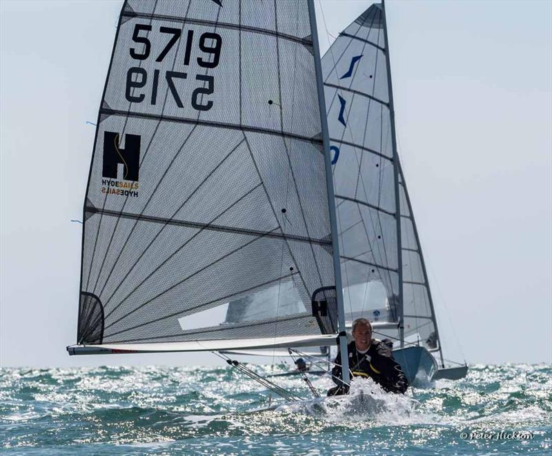 Solo Nigel Pusinelli Trophy at Hayling Island - photo © Peter Hickson