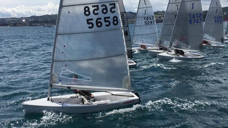 Day 1 of the Noble Marine National Solo UK Championship at Royal Torbay - photo © Royal Torbay Yacht Club