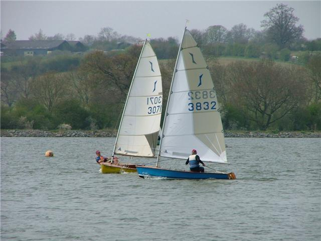 Solos at Banbury photo copyright George Scott taken at Banbury Sailing Club and featuring the Solo class
