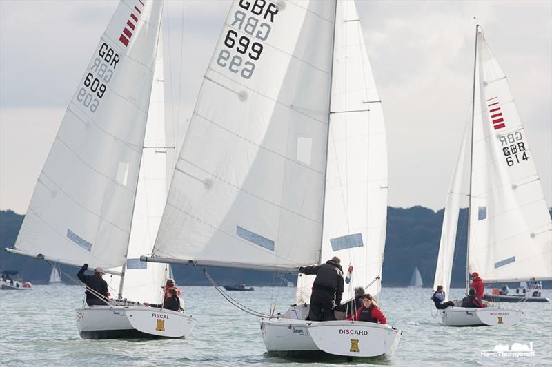Blind Sailing UK Nationals in Cowes - photo © Hamo Thornycroft / www.yacht-photos.co.uk