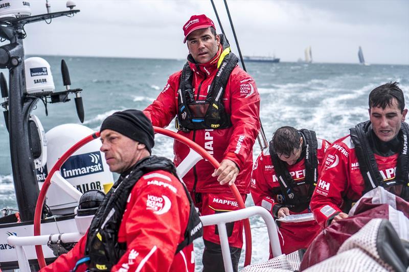 Spinlock's custom lifejacket for the Volvo Ocean Race - photo © Ugo Fonolla / Volvo Ocean Race