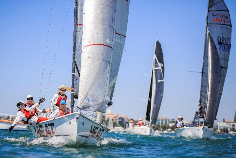 Sports boat Heat (left) and Reo Speedwagon (right) – Festival of Sails - photo © Salty Dingo