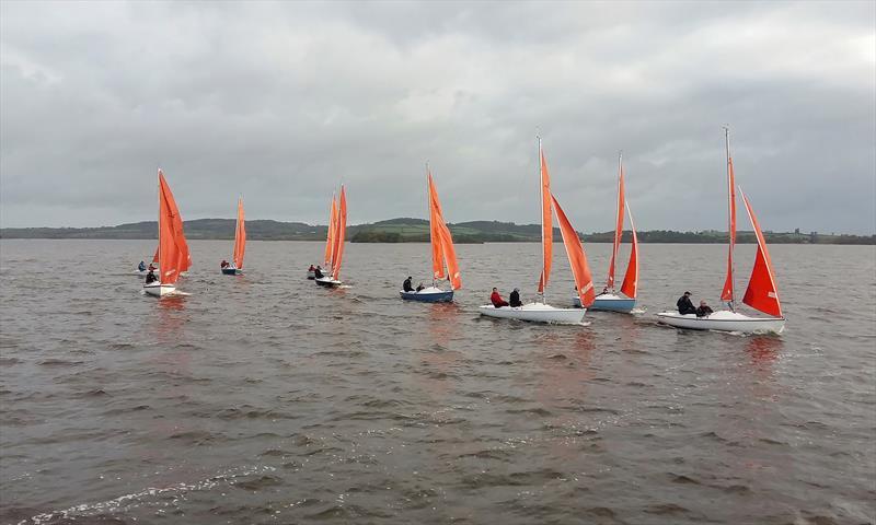 Squib Irish Inland Championship at Lough Derg - photo © Jeff Condell