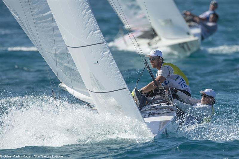Freddy Loof & Anders Ekstrom finish 2nd at the Star Sailors League Finals in Nassau - photo © SSL / Gilles-Martin Raget