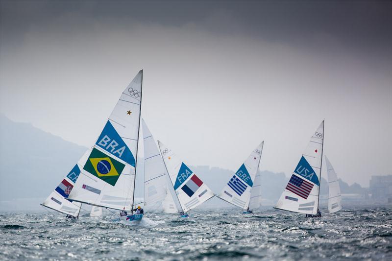 Star fleet on day three of the London 2012 Olympic Sailing Competition - photo © Tom Gruitt / www.tom-gruitt.co.uk