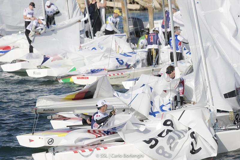 2017 Star Sailors League Finals - Day 1 - photo © Carlo Borlenghi