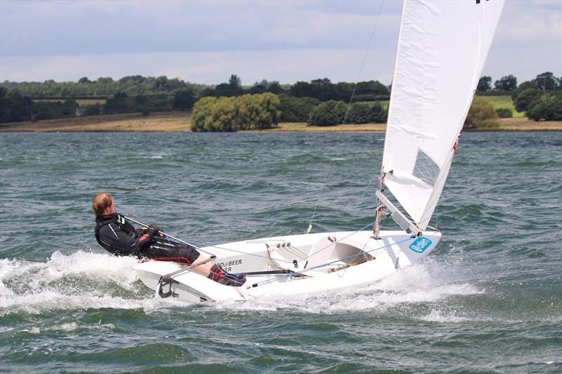 Isaac Marsh was second overall in the Noble Marine Streaker National Championships at Rutland - photo © Karen Langston