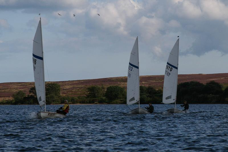 Race 2 during the Scaling Dam Sailing Club Streaker & Laser Open - photo © Lucy Priest