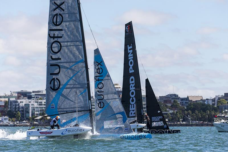 SuperFoiler Grand Prix 2018 photo copyright Andrea Francolini taken at Royal Geelong Yacht Club and featuring the Superfoiler class
