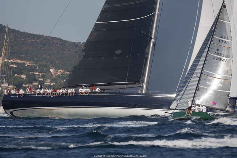 Les Voiles de Saint-Tropez Challenge Day - photo © Gilles Martin-Raget