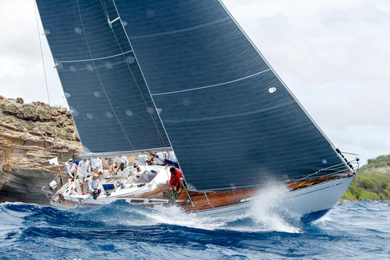 Jonty Layfield's Swan 48, Sleeper X on Race Day 4 at Antigua Sailing Week - photo © Paul Wyeth / www.pwpictures.com