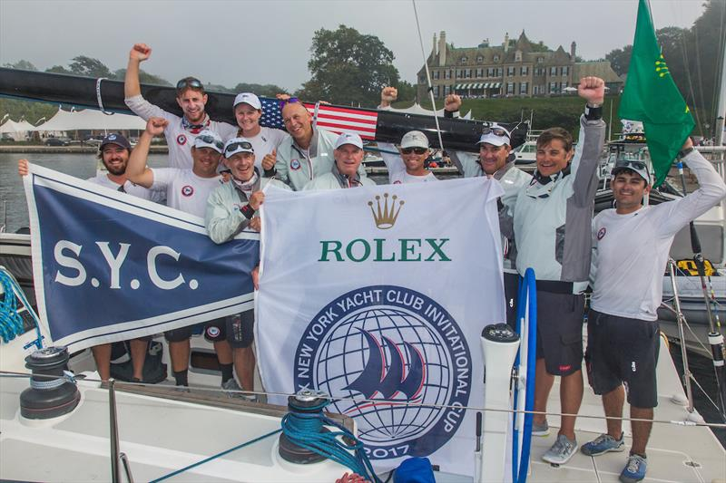 Southern Yacht Club win the 2017 Rolex New York Yacht Club Invitational Cup - photo © Rolex / Daniel Forster