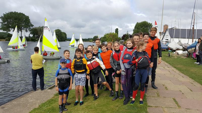 Thames Valley Challenge Team Racing at Upper Thames SC - photo © Katy Meadowcroft