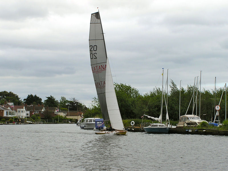 The Thames A Rater 'Lady Jane' wins the Navigators & General Three Rivers Race 2012 - photo © Holly Hancock