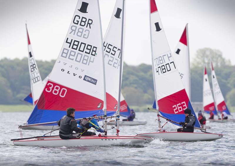 Topper sailor Ethan Kneale on day 2 of the RYA Eric Twiname Championships - photo © Dan Towers / onEdition / RYA