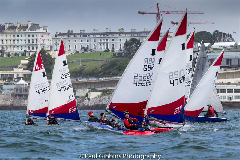 Topper South West Championship during the 2017 Plymouth Dinghy Regatta - photo © Paul Gibbins Photography