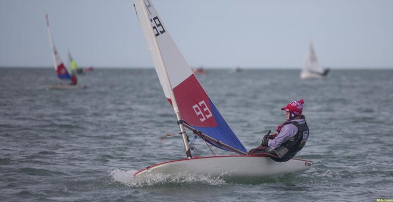 Lowri Boorman during the RYA Welsh Zone Championships - photo © RYA Cymru Wales