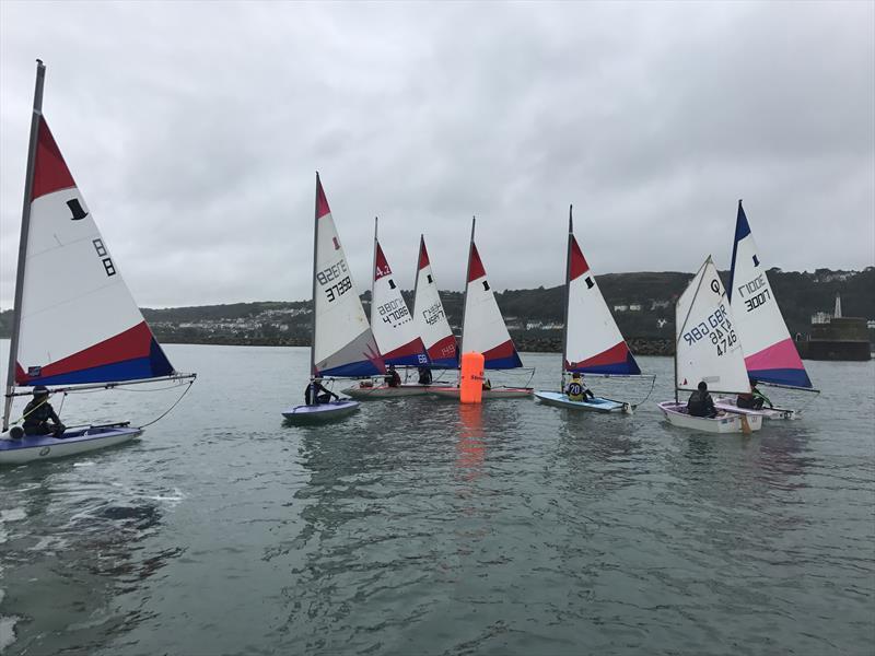 Topper regatta group during the RYA Welsh Zone Championships - photo © RYA Cymru Wales