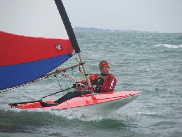 Topper Open at Calshot photo copyright Richard Brooks  taken at Calshot Sailing Club and featuring the Topper class