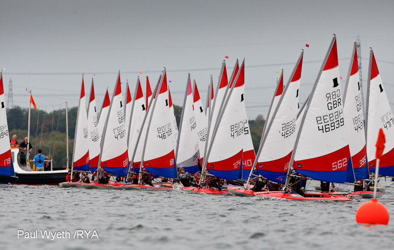 RYA Volvo East Zone Championship day 1