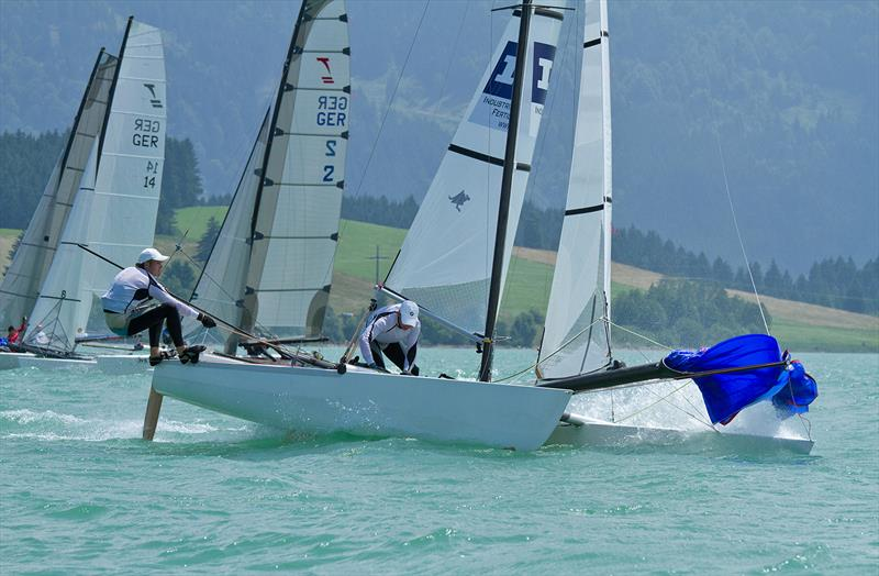 Next stop for Tornado sailors is the World Championships in Ibiza