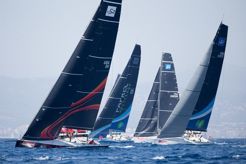 Mallorca Sotheby´s IRC fleet on day 5 of the 36th Copa del Rey MAPFRE - photo © Maria Munia / Copa del Rey MAPFRE