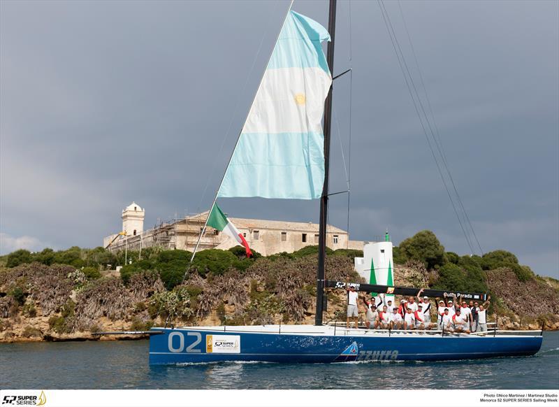 Azzurra win the 52 Super Series at Mahon, Menorca - photo © Nico Martinez / MartinezStudio