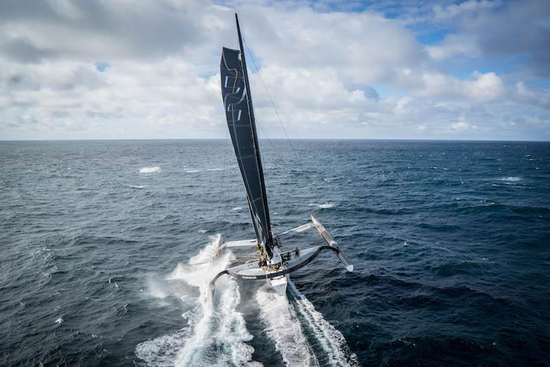 The maxi trimaran Spindrift 2 - photo © Eloi Stichelbaut / Spindrift racing