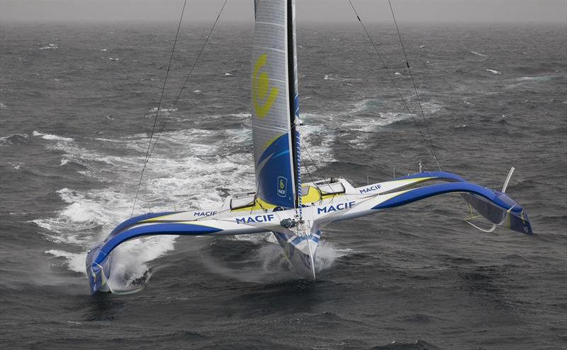 Gabart sets outright Ouessant - Cape Agulhas record