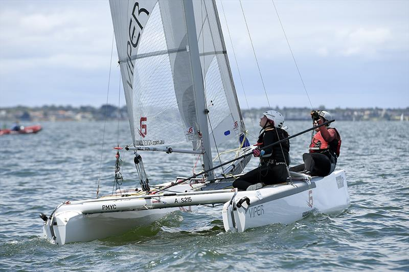 Vipers at Sailing World Cup Melbourne - photo © Jeff Crow / Sport the Library