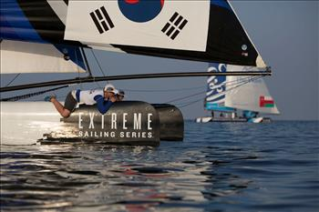 2013 Extreme Sailing Series Act 1 day 3