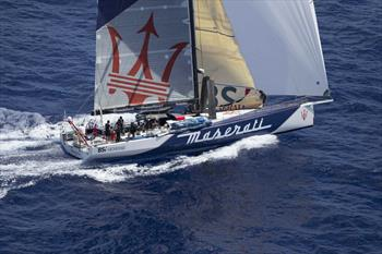 Cape to Rio Line Honours Favourite Volvo 70 Maserati