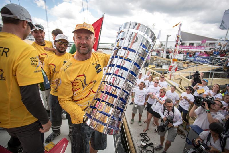Ian Walker's Abu Dhabi Ocean Racing win the Volvo Ocean Race - photo © Matt Knighton / Abu Dhabi Ocean Racing / Volvo Ocean Race