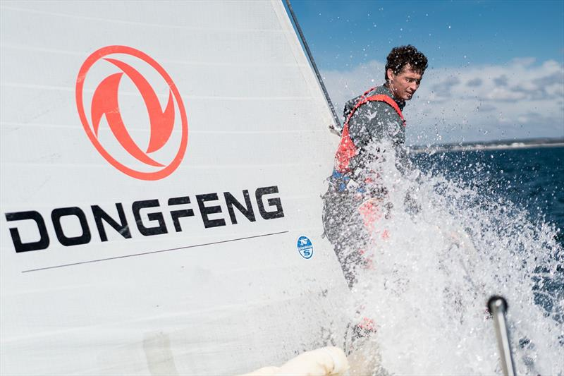Rising stars join Dongfeng Race Team: Jack Bouttell - photo © Yann Riou / Dongfeng Race Team