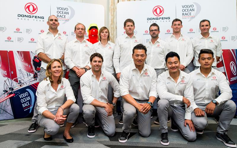 Dongfeng Race Team reveal their full Volvo Ocean Race line-up - photo © Vincent Curutchet / Dongfeng Race Team