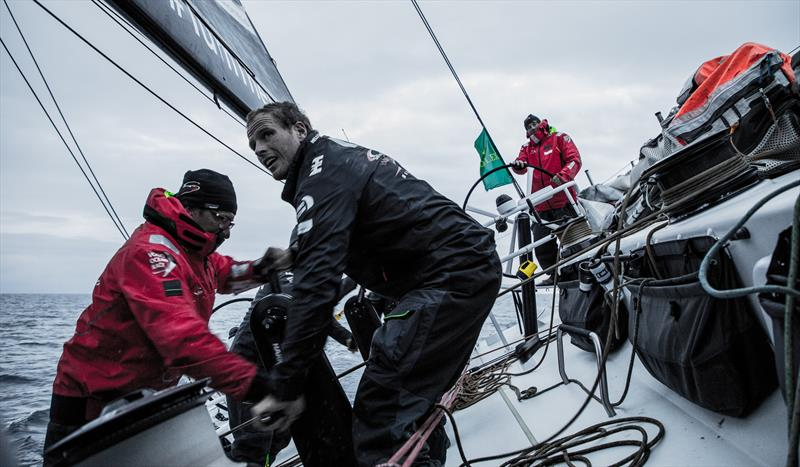 Morning on board SHK in the Rolex Fastnet Race - photo © Konrad Frost / Volvo Ocean Race