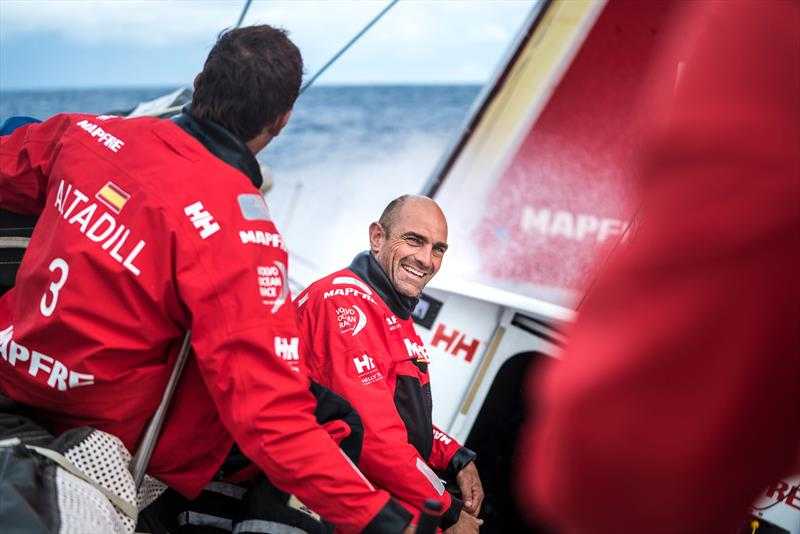 VOR Leg Zero - Rolex Fastnet Race day 3 on board MAPFRE - photo © Ugo Fonolla / Volvo Ocean Race