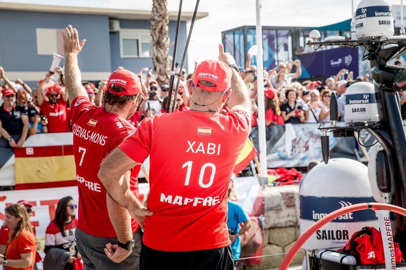 Volvo Ocean Race Leg 1 Start in Alicante - photo © María Muiña / MAPFRE