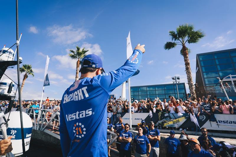 Volvo Ocean Race Leg 1 Start in Alicante - photo © Atila Madrona / Vestas 11th Hour Racing
