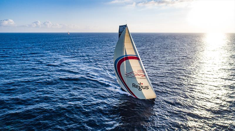 Sun Hung Kai / Scallywag during Volvo Ocean Race Leg 1: Alicante to Lisbon - photo © Jeremie Lecaudey / Volvo Ocean Race