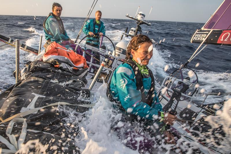 On board AkzoNobel during Volvo Ocean Race Leg 1: Alicante to Lisbon - photo © Konrad Frost / Volvo Ocean Race