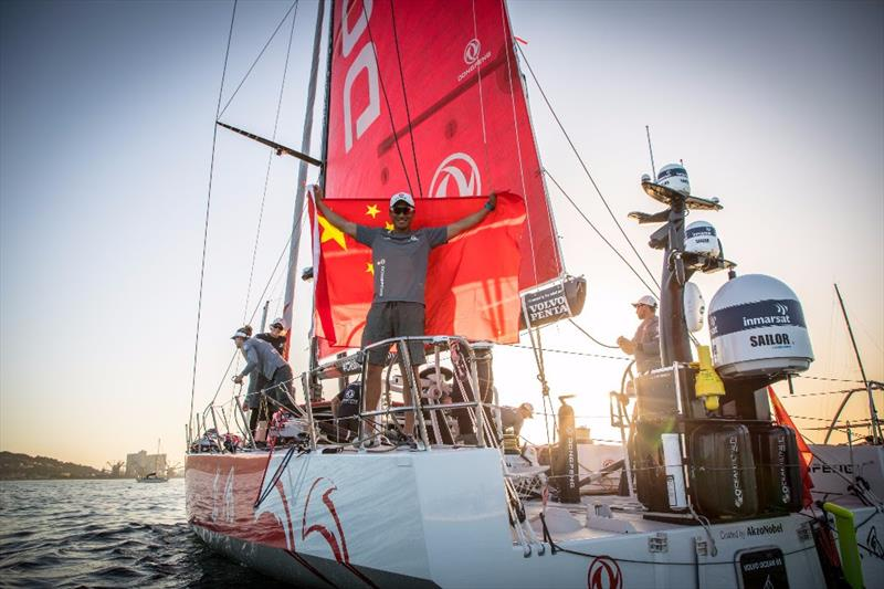 Dongfeng Race Team take third place in Leg 1 of the Volvo Ocean Race - photo © E.Stichelbaut / Dongfeng Race Team