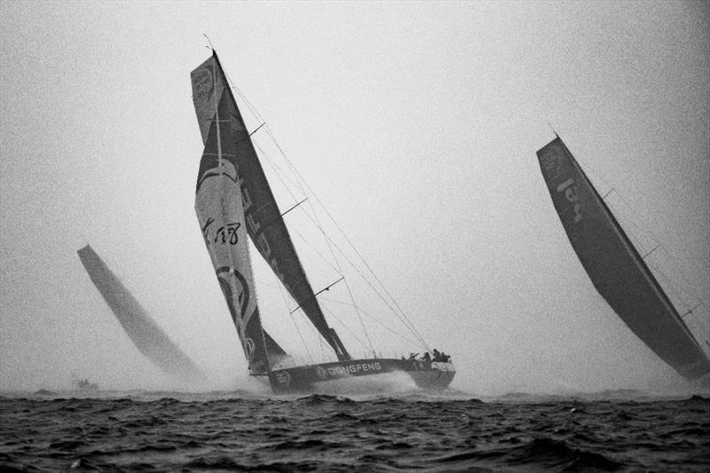 Volvo Ocean Race Mirpuri Foundation In-Port Race - photo © E.Stichelbaut / Dongfeng Race Team