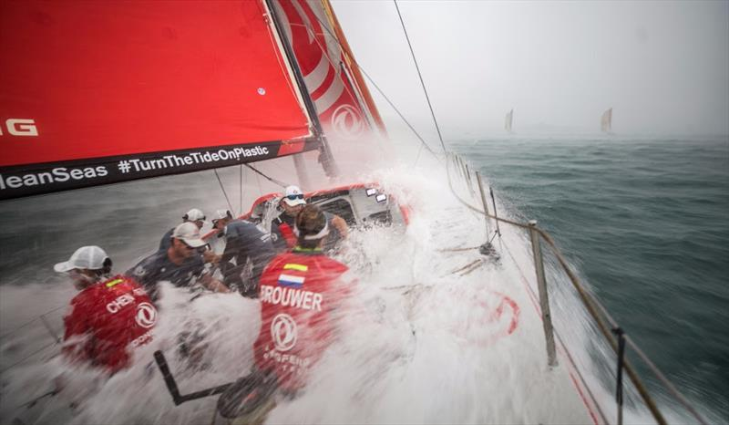 Volvo Ocean Race Mirpuri Foundation In-Port Race - photo © Jeremie Lecaudey / Volvo Ocean Race