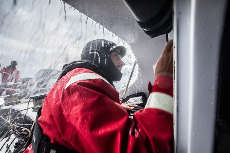 A wild beginning to Volvo Ocean Race Leg 2: Lisbon to Cape Town - photo © Konrad Frost / Volvo Ocean Race