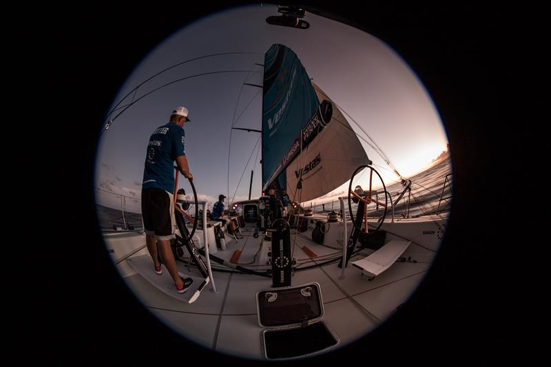 On board Vestas 11th Hour Racing during Volvo Ocean Race Leg 2: Lisbon to Cape Town - photo © Ugo Fonolla / Volvo Ocean Race