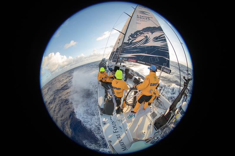 Sailing down the coast of Brazil on board Turn the Tide on Plastic - photo © Sam Greenfield / Volvo Ocean Race