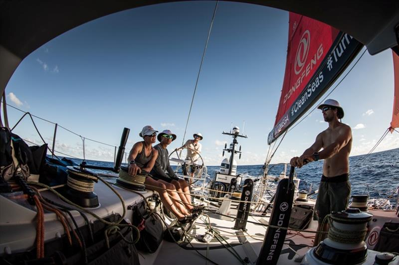 Volvo Ocean Race Leg 4, Melbourne to Hong Kong, day 10 on board Dongfeng. - photo © Martin Keruzore / Volvo Ocean Race