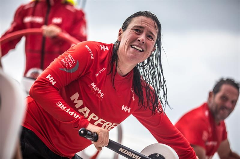 Volvo Ocean Race Leg 4, Melbourne to Hong Kong, day 11 on board MAPFRE, Tamara Echegoyen. - photo © Ugo Fonolla / Volvo Ocean Race