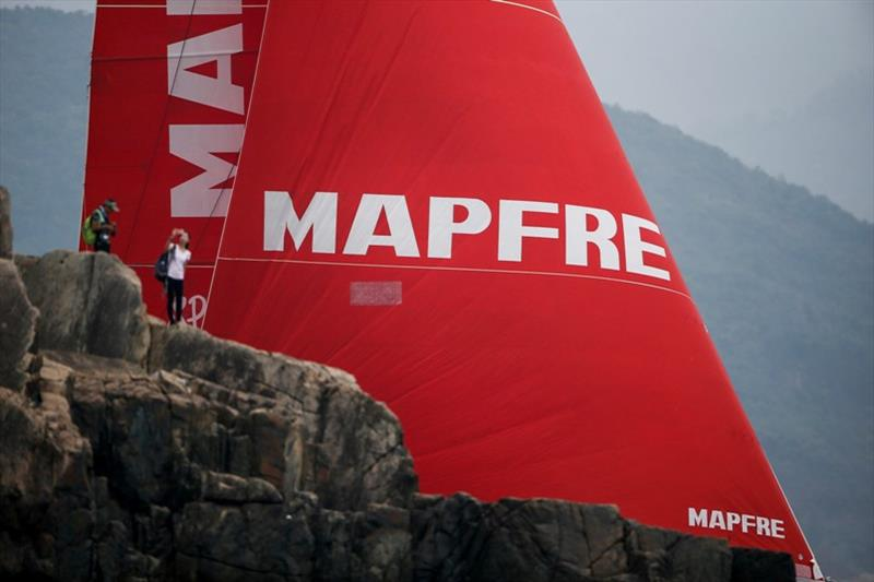 MAPFRE wins the Around Hong Kong Island Race - photo © Pedro Martinez / Volvo Ocean Race